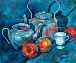 Description: Bleu-Thé / Blue-Tea Auteur: ZHARAYA Eugeniya