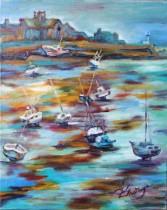 Description: La maree basse au port de Barfleur Auteur: Eugeniya ZHARAYA