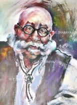 Description: Portrait d'un ami_Jean-Pierre M Auteur: by ZHARAYA Eugéniya