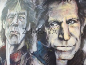 Description: The-Rolling-Stones_Mick-Jagger-and-Keith-Richards Auteur: by-ZHARAYA