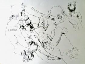 Description: Croquis Auteur: Genia-ZHARAYA