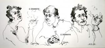 Description: Entre-amis Auteur: ZHARAYA