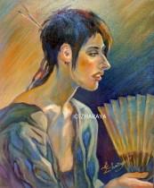 Description: Kimono en soie / Silk kimono Auteur: Eugéniya ZHARAYA