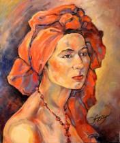 Description: Turban-rouge Auteur: Zharaya