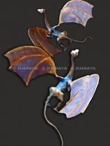 Description: Oscar Le Premier, dragon / Oscar the First, dragon Auteur: Eugeniya ZHARAYA