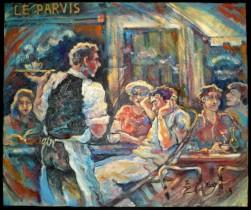 Description: Restaurant-Le-Parvis_Cafe-d'ete Auteur: ZHARAYA