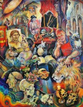 Description: St Jerome-Coeur de lion_Jérome Bosch chez Jérôme Thoumir Auteur: ZHARAYA Eugéniya